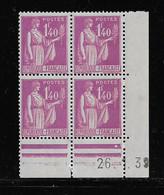 FRANCE  ( FCD3 - 1086 )  1937  N° YVERT ET TELLIER  N° 371   N** - 1930-1939
