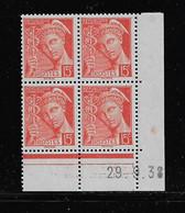 FRANCE  ( FCD3 - 1091 )  1938  N° YVERT ET TELLIER  N° 408   N** - 1930-1939