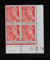 FRANCE  ( FCD3 - 1097 )  1938  N° YVERT ET TELLIER  N° 408   N** - 1930-1939