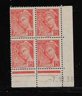 FRANCE  ( FCD3 - 1099 )  1938  N° YVERT ET TELLIER  N° 408   N** - 1930-1939