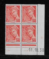FRANCE  ( FCD3 - 1101 )  1938  N° YVERT ET TELLIER  N° 408   N** - 1930-1939