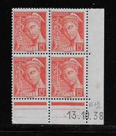 FRANCE  ( FCD3 - 1103 )  1938  N° YVERT ET TELLIER  N° 408   N* - 1930-1939