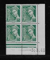 FRANCE  ( FCD3 - 1106 )  1938  N° YVERT ET TELLIER  N° 411   N** - 1930-1939