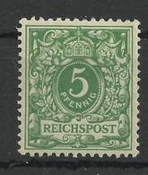 Deutsches Reich 46 C *, Geprüft Jäschke-Lantelme - Ongebruikt