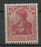 Deutsches Reich 86 II A **, Typsigniert Jäschke-Lantelme - Ongebruikt