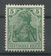 Deutsches Reich 85 I A **, Geprüft Jäschke-Lantelme - Ongebruikt