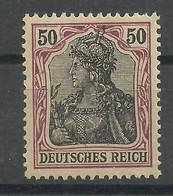 Deutsches Reich 91 II X **, Typsigniert Jäschke-Lantelme - Ungebraucht