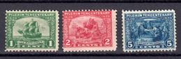 Etats Unis 1920 Yvert 225 / 227 * Neufs Avec Charniere Sans Gomme - Unused Stamps