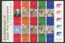 Japon ** N° 4208 à 4213 En Feuille - Etablissement De Japon Post Corporation - - Neufs