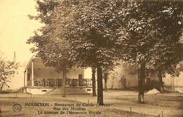 """035 243 - CPA - Belgique - Mouscron - Restaurant Du Cercle """"Avenir"""" - Rue Des Moulins - Mouscron - Moeskroen"""