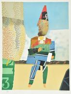 Max Papart (1911-1994): Clown Three. Litográfia, Papír. Jelzett. Számozott: 89/135. 65x50 Cm / Max Papart (1911-1994): C - Non Classificati