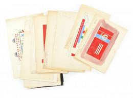 Pusztai Bálint Jelzéssel: Egy Mappányi Szocreál Plakát- és Dekorációterv, Különféle Szocialista Jubileumokhoz, Cca 1970- - Non Classificati