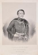 1847 Sárvári Báró Eötvös József (1798-1883) Hétszemélynök, A Királyi ügyek Fő Igazgatójának Névnapjára A Hivatal Személy - Incisioni