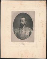 Cca 1900 Habsburg-Lotaringiai Rudolf (1858-1889) Osztrák Főherceg, Magyar Királyi Herceg, Heliogravűr (fénnyomat), Facsi - Incisioni