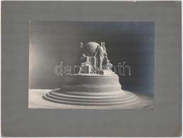 Cca 1910 Emlékműterv, Vintage Fotó, 16x22,8 Cm, Karton 24,8x32,8 Cm - Non Classificati