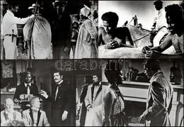 """Cca 1973 Amerika, ,,Rabszolgák"""" Című Amerikai Film 13 Db Produkciós Filmfotója, Pánczél György (1920-?) Filmtörténész Ha - Non Classificati"""