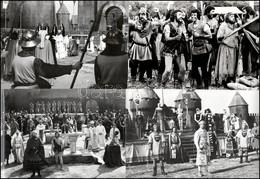 """Cca 1971 Olaszország, ,,A Tüzes íjász"""" Című Olasz-spanyol-francia Film 13 Db Produkciós Filmfotója, Pánczél György (1920 - Non Classificati"""