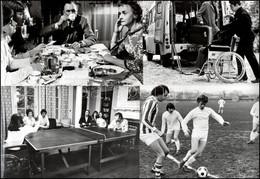 """Cca 1970 Anglia, ,,Tombol A Hold"""" Című Angol Film 13 Db Produkciós Filmfotója, Pánczél György (1920-?) Filmtörténész Hag - Non Classificati"""