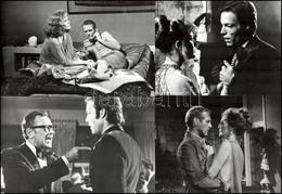 """Cca 1974 Amerika, ,,Pokoli Torony"""" Című Amerikai Film 15 Db Produkciós Filmfotója, Pánczél György (1920-?) Filmtörténész - Non Classificati"""