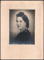 1942 Veszprém, Becske Fényképész Műtermében Készült Vintage Fotó, 23x17 Cm, Karton 39x29 Cm - Non Classificati