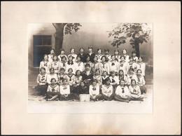 Cca 1933 Budapest, Rasem Viktor Fényképész által Készített Vintage Fotó, Iskolai Csoportkép, A Hátoldalon Nevesítve A Ké - Non Classificati