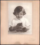 Cca 1925 Budapest, Rónai Dénes (1875-1964) Fényképész és Fotóművész Műtermében Készült Vintage Fotó, 22,6x16,8 Cm, Karto - Non Classificati