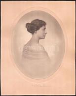 Cca 1921 Budapest, Székely Aladár (1870-1940) Fényképész és Fotóművész Műtermében Készült Vintage Fotó, Aláírással, Matr - Non Classificati