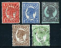 Queensland (Británica) Nº 78/9-81/2-85 ... - Nuovi