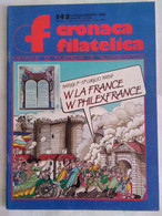 Cronaca Filatelica 143 1989 Barnave Carnot Desmoulins Danton Drouet Kellermann Chappe Marcenaro Francobollo Pirotecnico - Arte, Design, Decorazione
