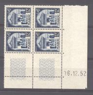 Maroc  :  Yv  309  **  Coin Daté Du   16-12-52 - Neufs
