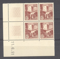 Maroc  :  Yv  310  **  Coin Daté Du   11-6-51 - Neufs