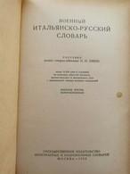 RARISSIMO Dizionario Cirillico Di Italiano > Russo Del 1953!! - ER - Libri Antichi