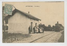 ANTHUME - La Gare (train ) - Other Municipalities