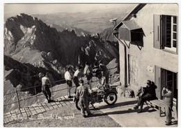 RIFUGIO L. BRIOSCHI - PASTURO - LECCO - 1957 - MOTO - MOTORCYCLE - Lecco