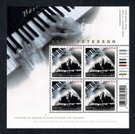 Canada  2005  -  Sheet Oscar Peterson's 80th Birthday   MNH - Blocks & Sheetlets