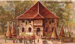 JOLIE CHROMO  / CHOCOLAT DEBEAUVE ET GALLAIS / LE SENEGAL - Sonstige