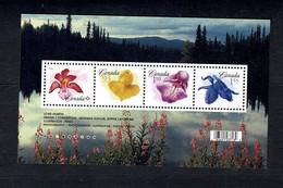 Canada  2006  -  Sc Bl 2194**   Flowers / Fleurs   MNH - Blocks & Sheetlets