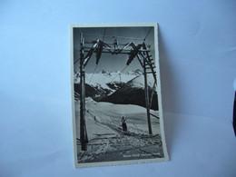 DAVOS SUISSE GR GRISON SKILIFT SCHATZALP STRELA  CPSM FORMAT CPA 1954 - GR Grisons