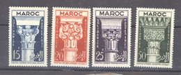 Maroc  :  Yv  315-18  ** - Unused Stamps
