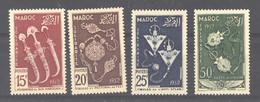 Maroc  :  Yv  320-22  +  Av  93  ** - Unused Stamps