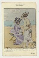 Carte Fantaisie - Nos Humoristes N° 5 - Place Vacante - Illustrateur Albert Guillaume - Guillaume