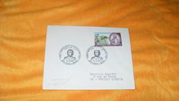 ENVELOPPE DE 1969.../ CACHETS 1769 NAPOLEON BONAPARTE 1821 974 SAINT DENIS + TIMBRE SURCHARGE 35F CFA - Lettres & Documents