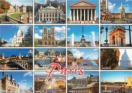 75 - Paris - Multivues - CPM - Voir Scans Recto-Verso - Viste Panoramiche, Panorama