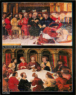 Art - Peinture Religieuse - CPM - Voir Scans Recto-Verso - Paintings, Stained Glasses & Statues