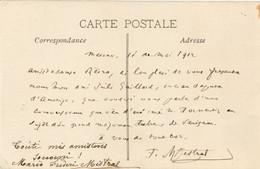 RARE Correspondance Personnelle De Frederic Mistral En Provençal - Autres Communes