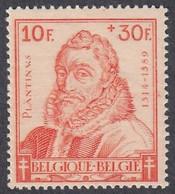 Belgium, Scott #B327, Mint Hinged, Christophe Plantin, Issued 1942 - Ungebraucht