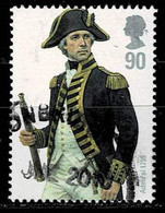 GB 2009,Michel# 2802 O Military Uniforms - Royal Navy: Admiral 1795 - Used Stamps
