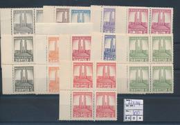 BELGIAN CONGO ALBERT'S MEMORIAL COB 214/224 MNH - 1923-44: Nuovi
