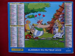ALMANACH DU FACTEUR 2003 - ASTERIX - PLANS VILLES DE LA  REGION 13 - - Altri