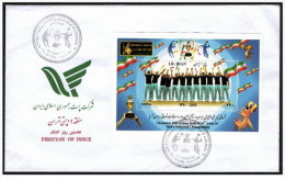 2011- FDC Champion Title Of Iran Team At 16th Asian Sr. Men's Volleyball Championship Sheet - Iran - Pallavolo
